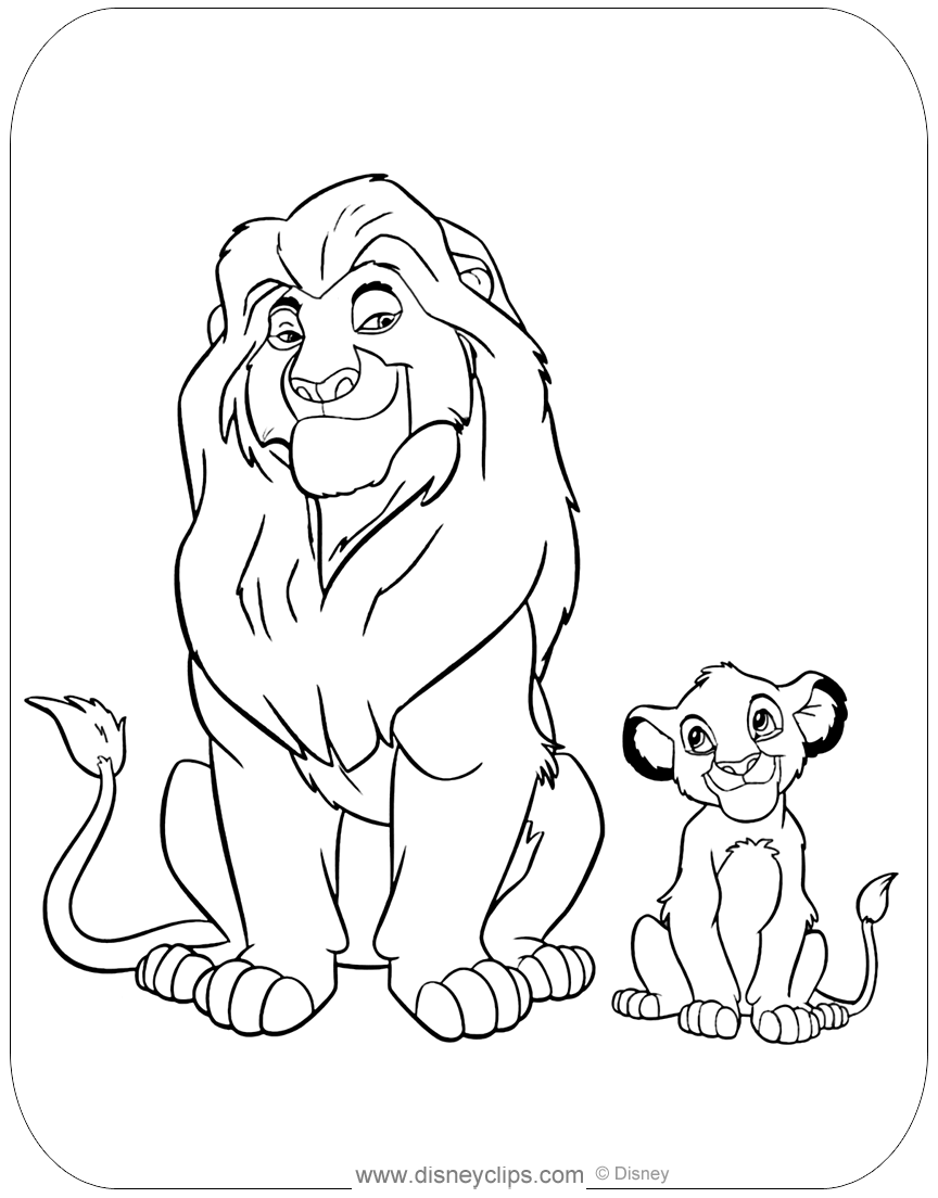 lion king coloring book pages lion king coloring pages coloring pages to print coloring book king pages lion