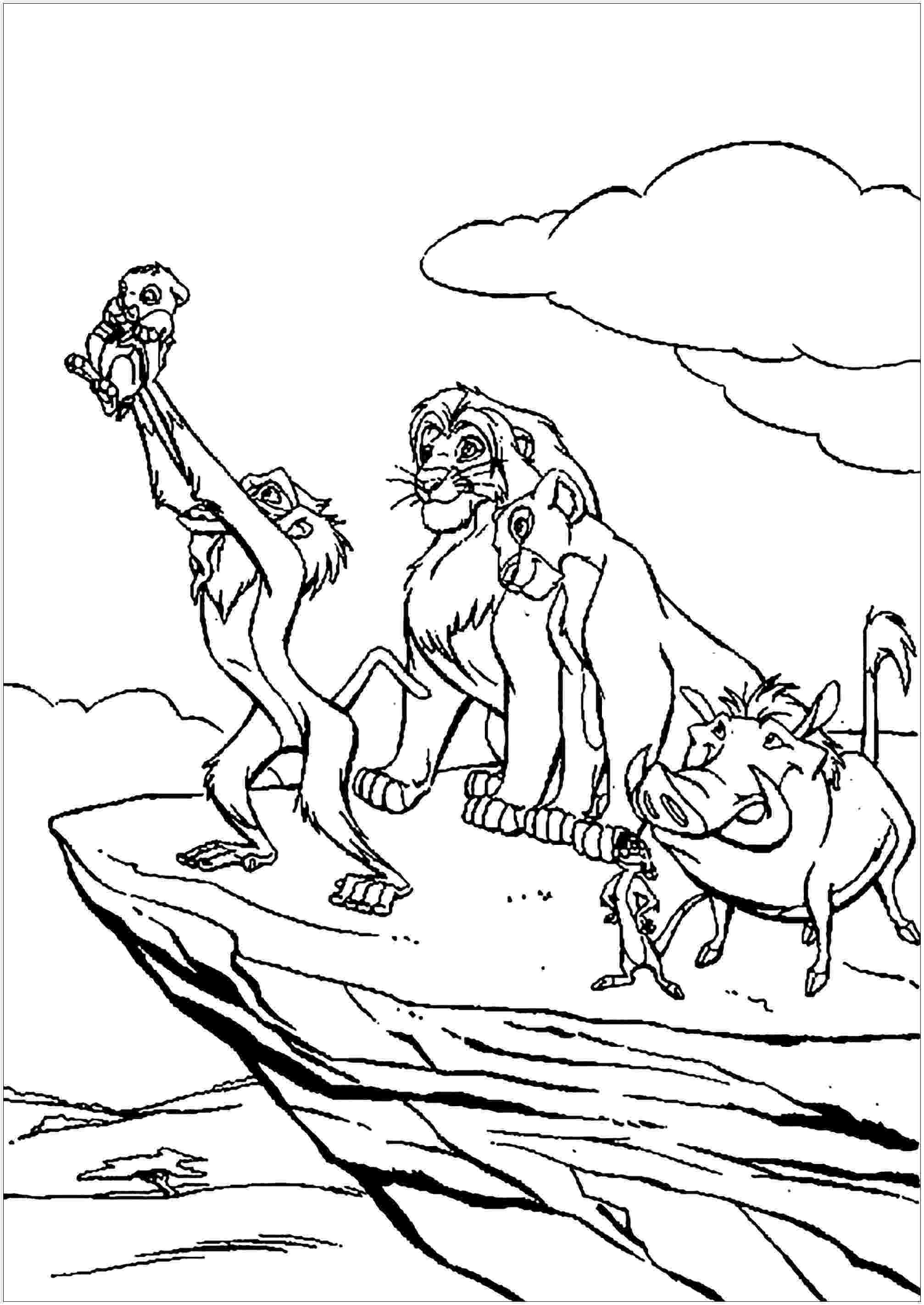 lion king coloring book pages lion king coloring pages simba fischer buzz book king pages lion coloring