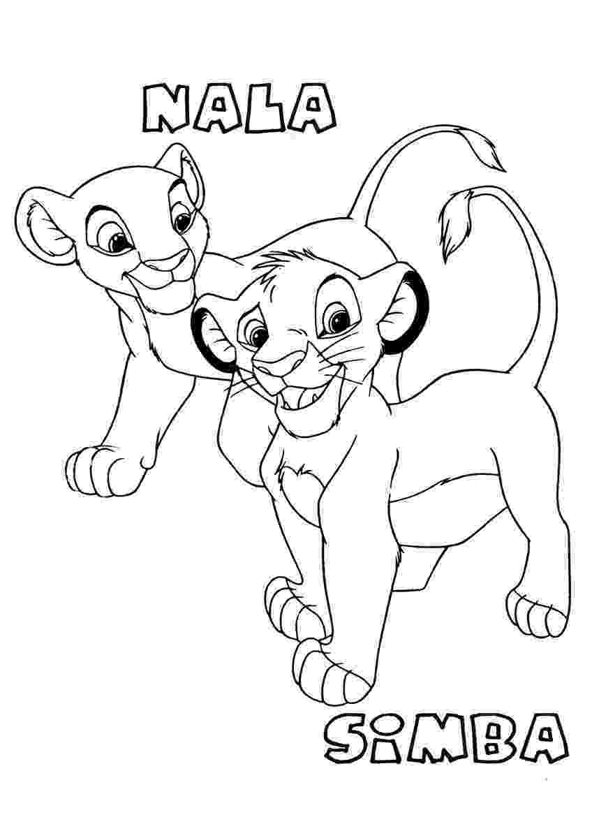 lion king coloring book pages the lion king coloring pages disneyclipscom book king lion coloring pages