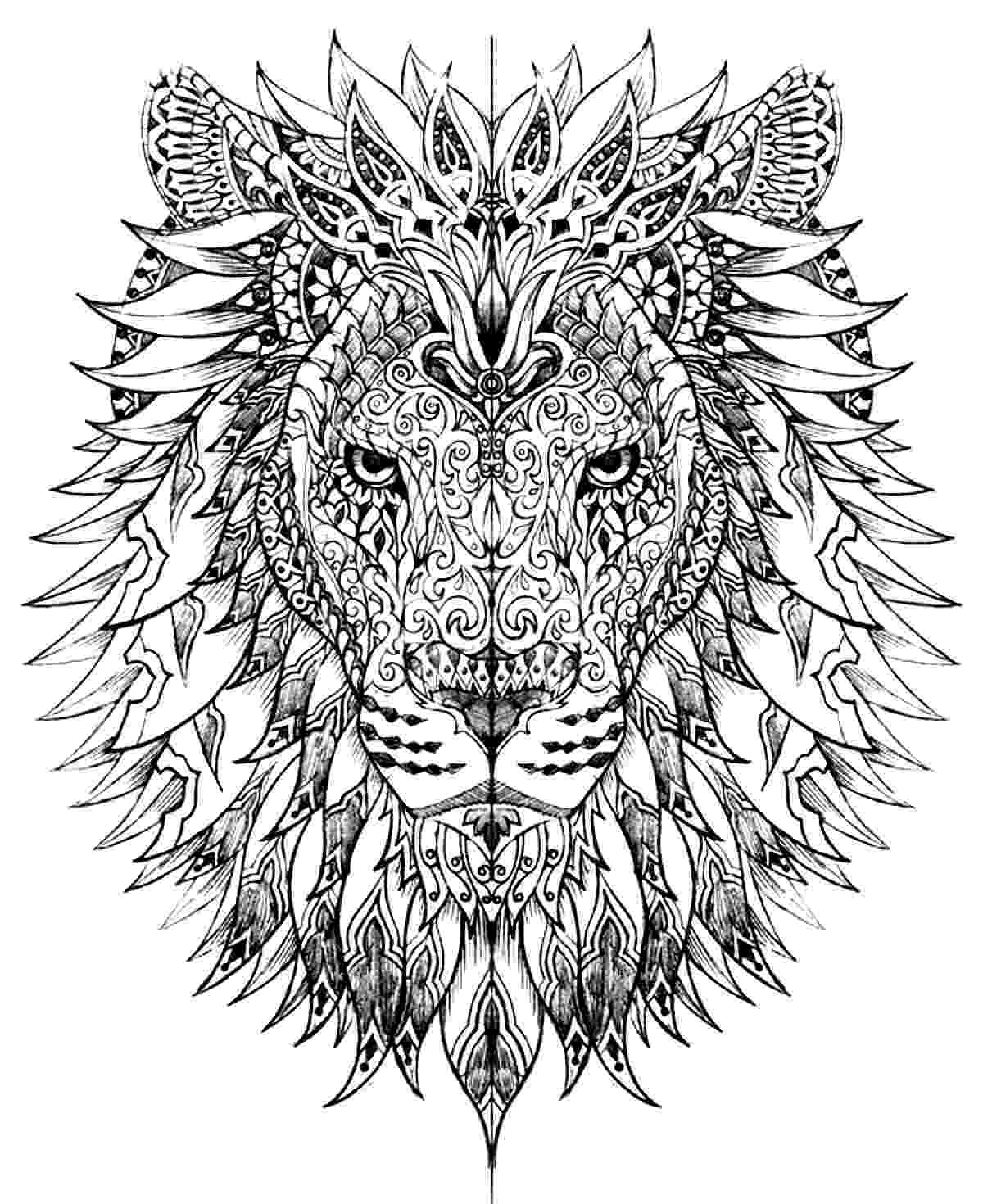 lion pictures for colouring animal coloring pages our class loves animals colouring for lion pictures