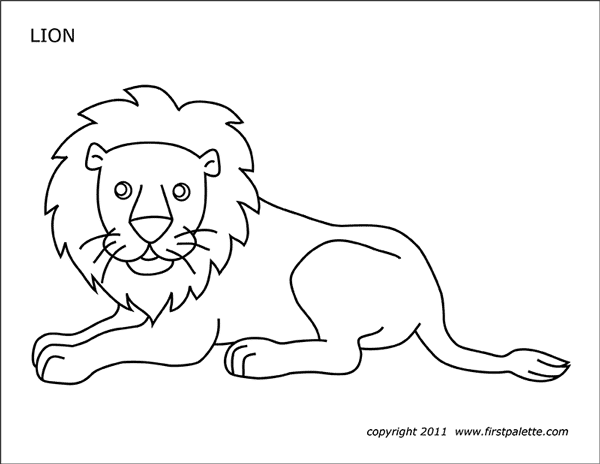 lion pictures for colouring lion free printable templates coloring pages for colouring lion pictures