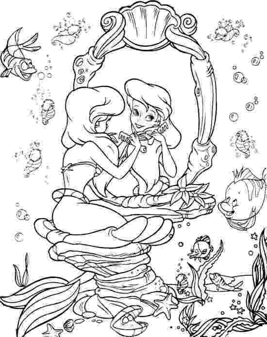 little mermaid coloring sheet free printable little mermaid coloring pages for kids little coloring mermaid sheet