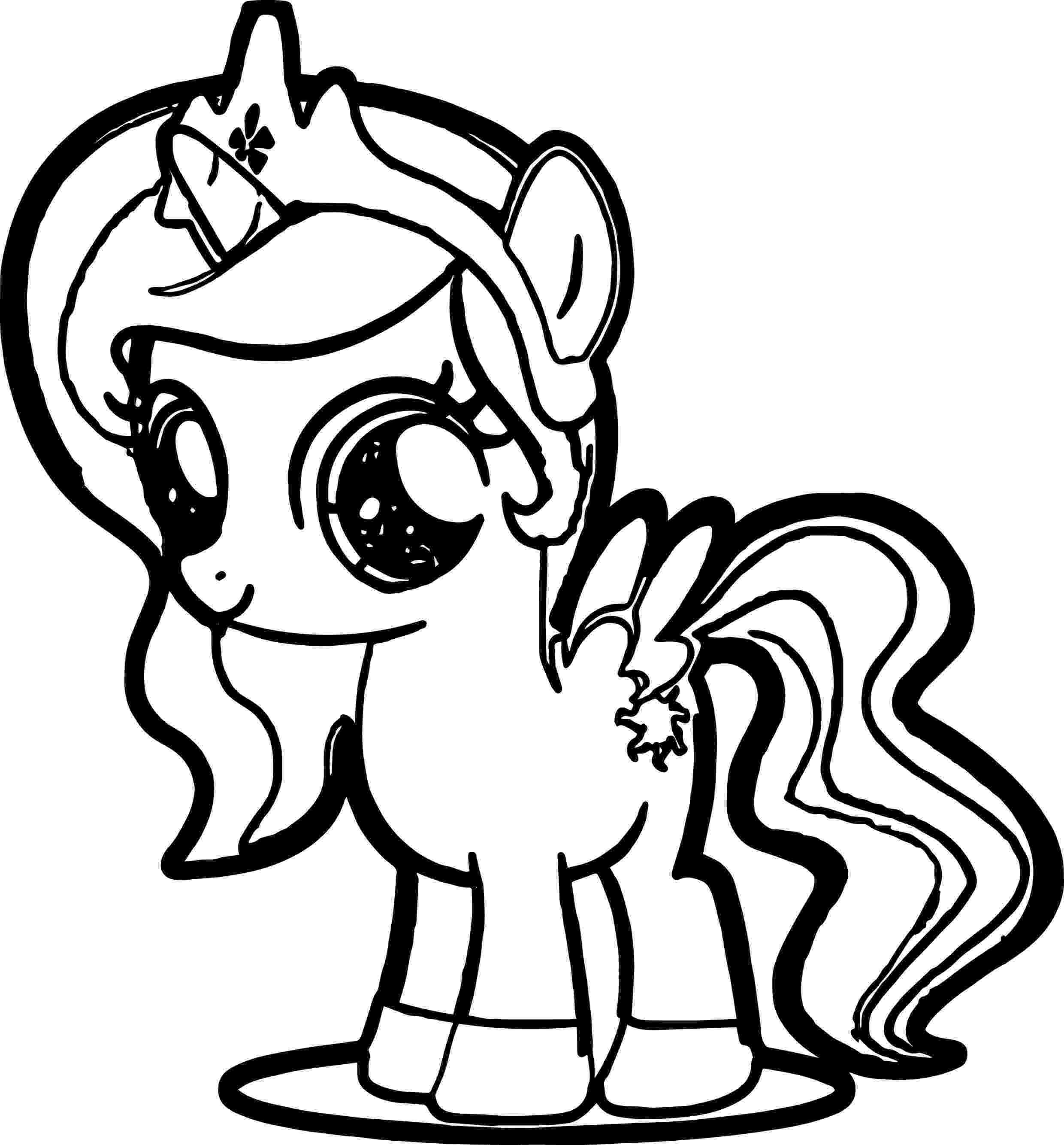 little pony to color cute pony coloring page wecoloringpagecom little color pony to