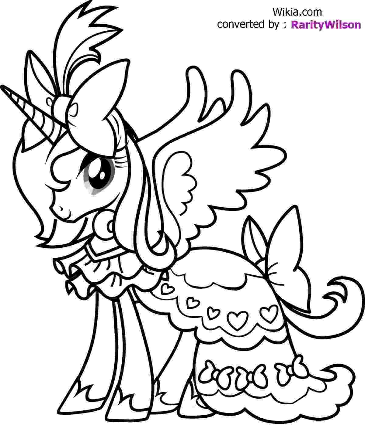 little pony to color free coloring pages my little pony coloring pages to color pony little