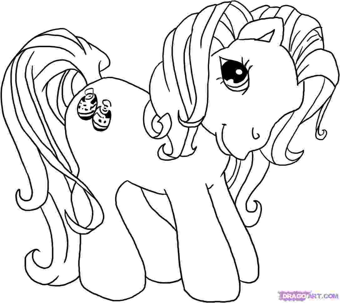 little pony to color free printable my little pony coloring pages for kids little color pony to
