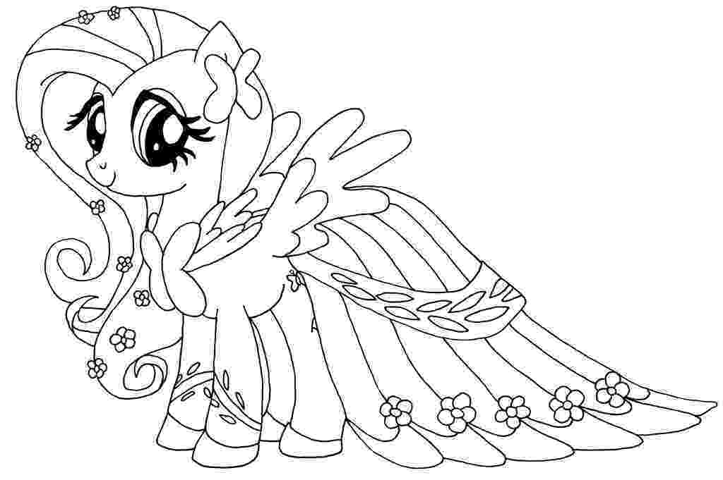 little pony to color free printable my little pony coloring pages for kids to color little pony 1 1