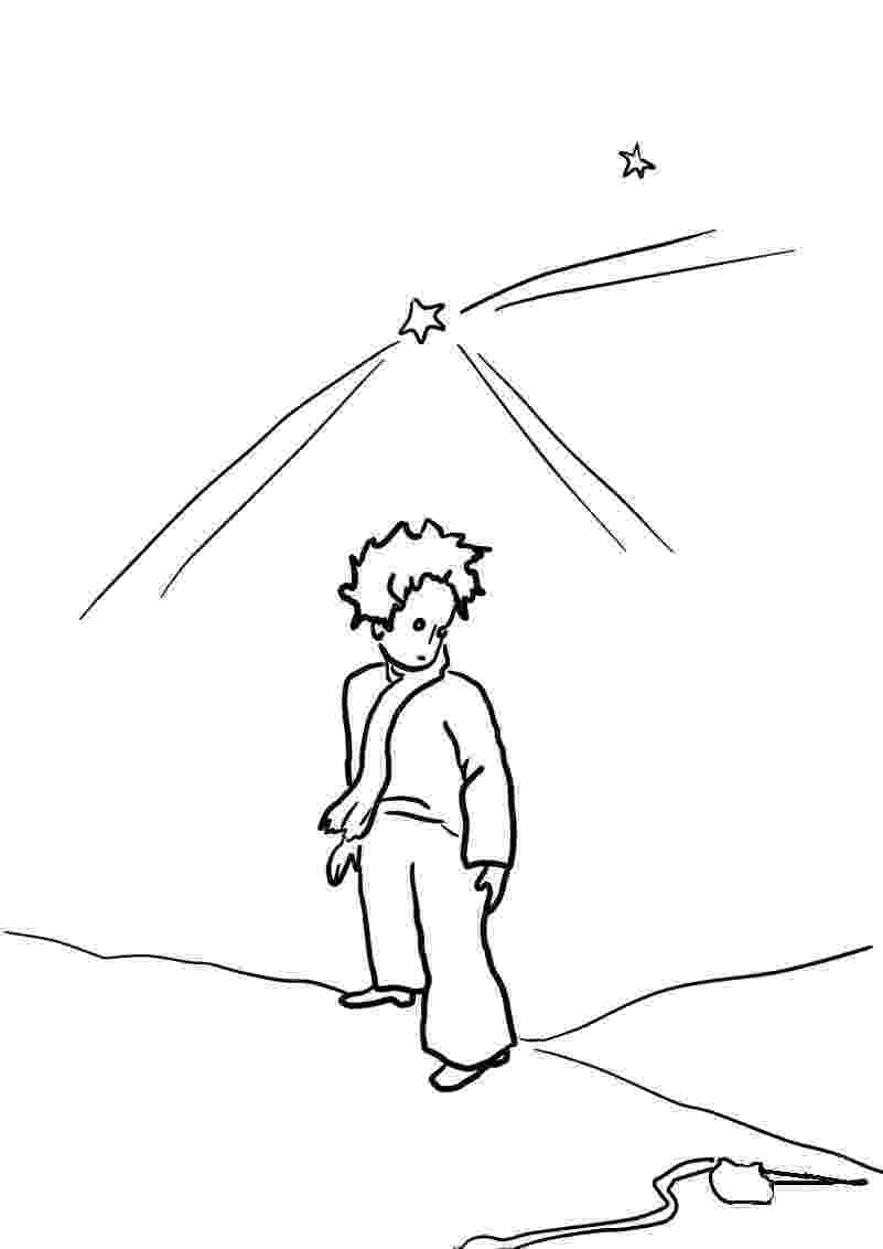 little prince coloring book little prince on the planet coloring page free printable coloring little book prince