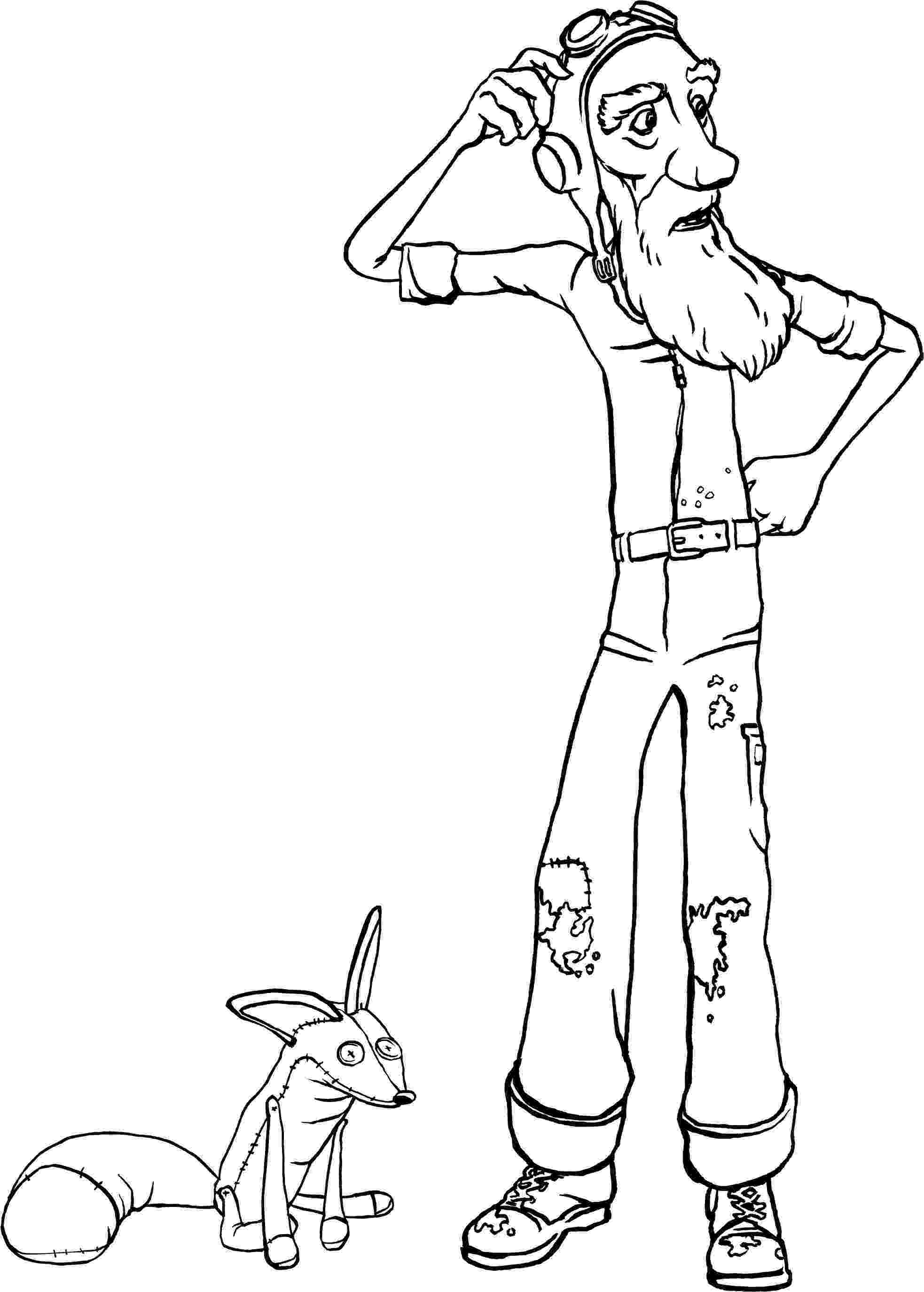 little prince coloring book the little prince befriends the fox coloring page free little prince book coloring
