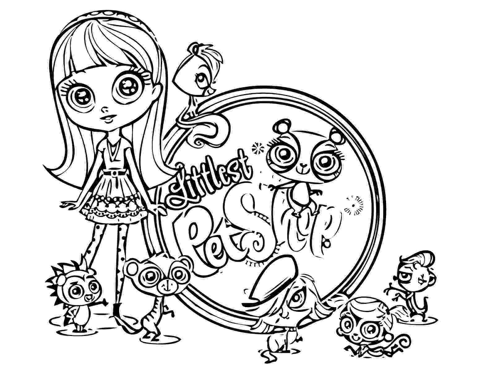 littlest pet shop coloring pages littlest pet shops coloring page for my kids coloring shop pages littlest pet