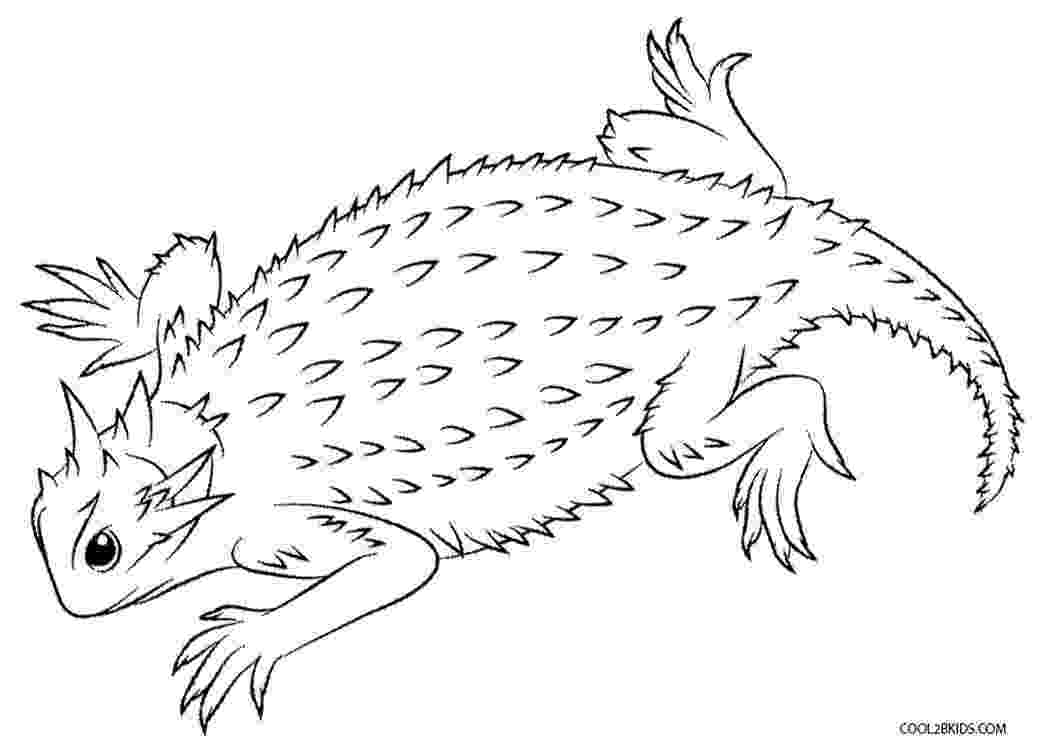 lizard to color free printable lizard coloring pages for kids color to lizard