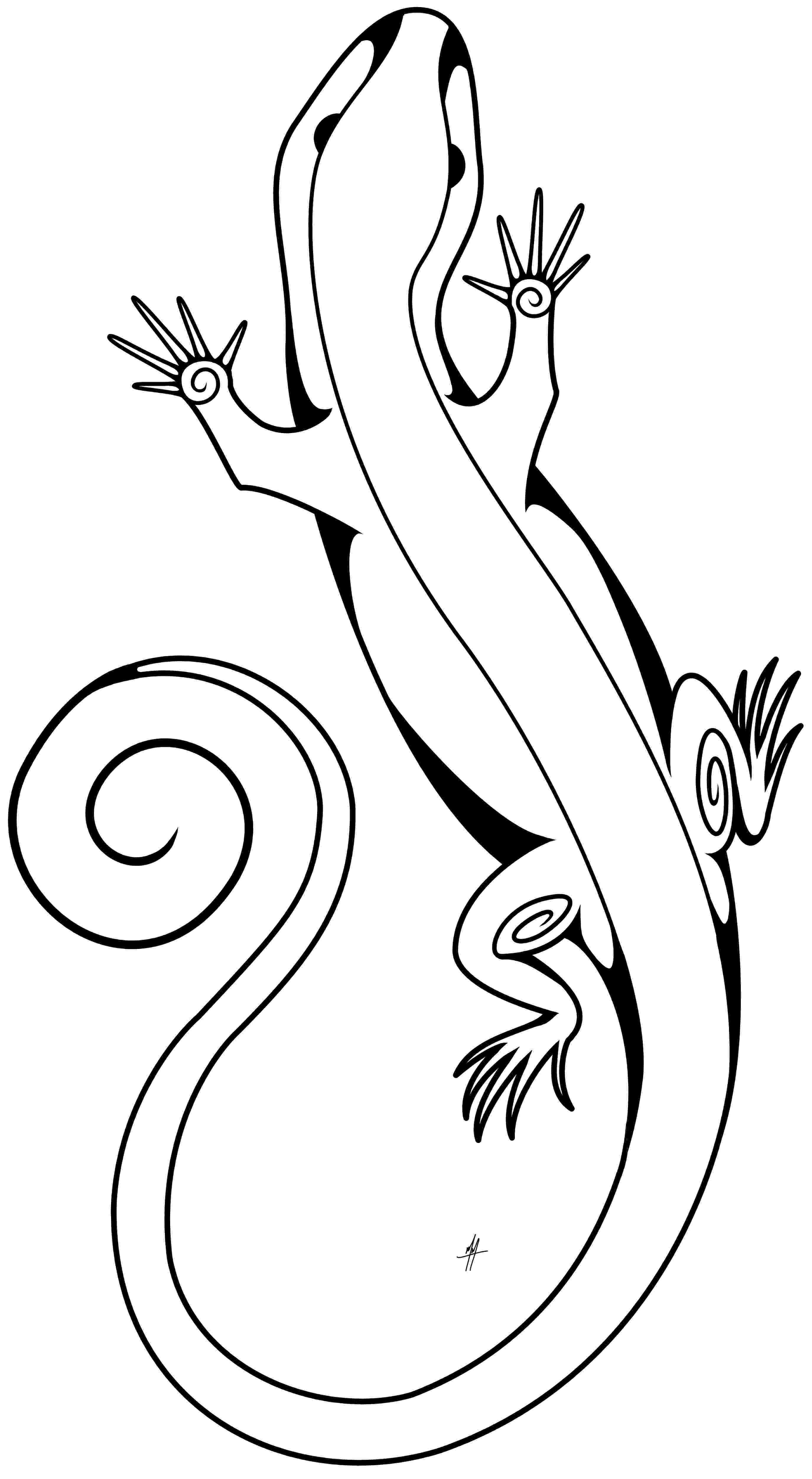 lizard to draw learn how to draw a lizard lizards step by step draw to lizard