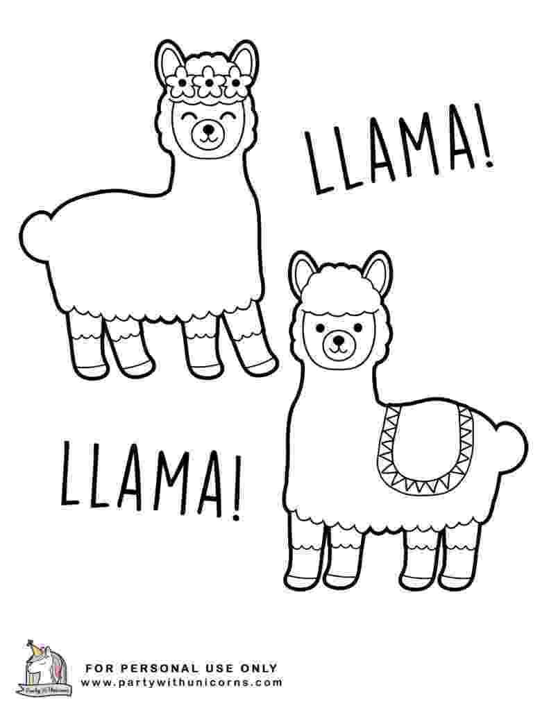 llama coloring pages llama coloring pages free download coloring llama pages
