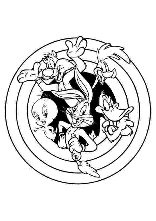looney tunes coloring pages to print looney tunes coloring pages 360coloringpages to tunes print looney coloring pages