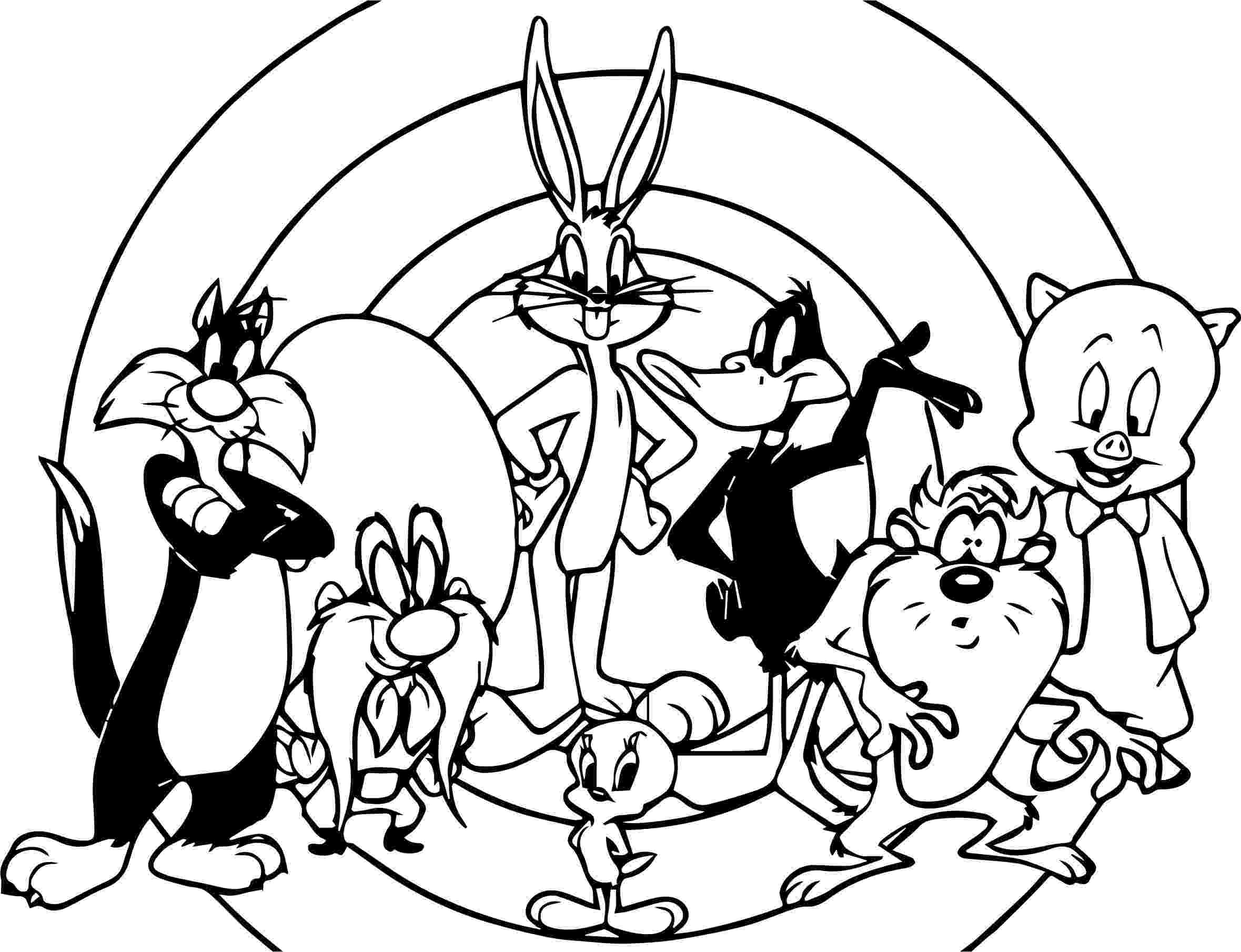 looney tunes coloring sheets looney tunes coloring pages 360coloringpages looney tunes coloring sheets