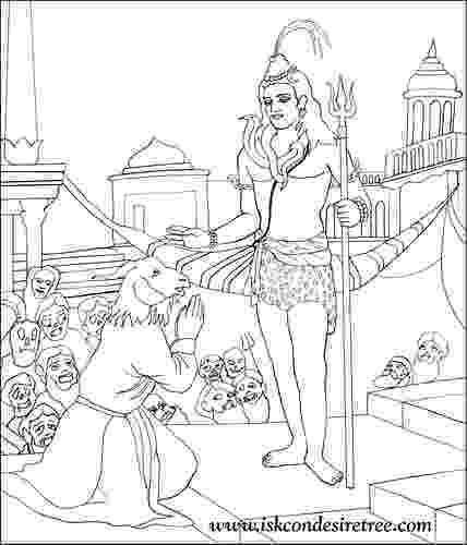 lord shiva colouring pages hindu mythology 18 gods and goddesses printable lord shiva colouring pages