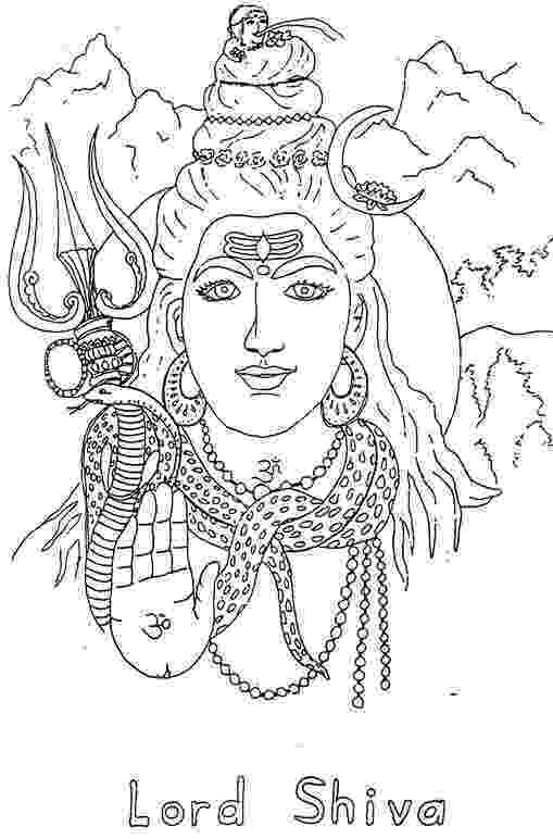 lord shiva colouring pages images to colour page 2 childrens land lord shiva colouring pages