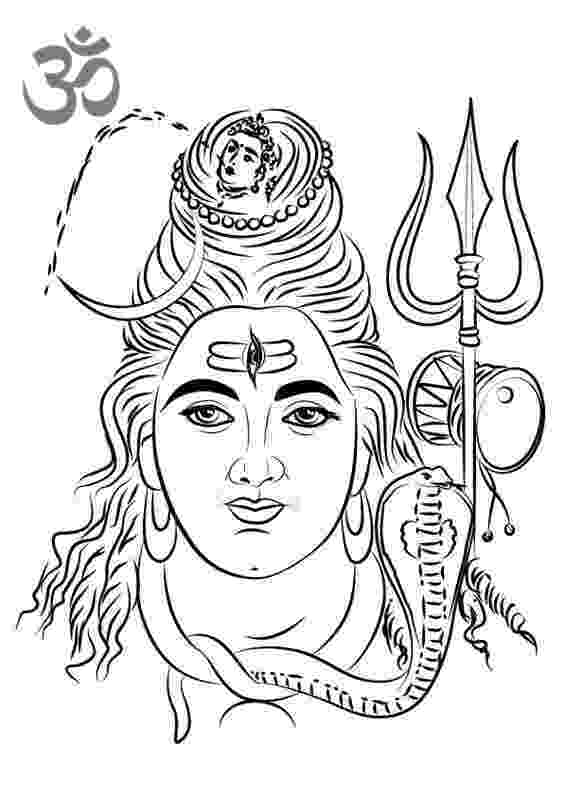 lord shiva colouring pages lord shiva coloring page free printable coloring pages lord shiva colouring pages