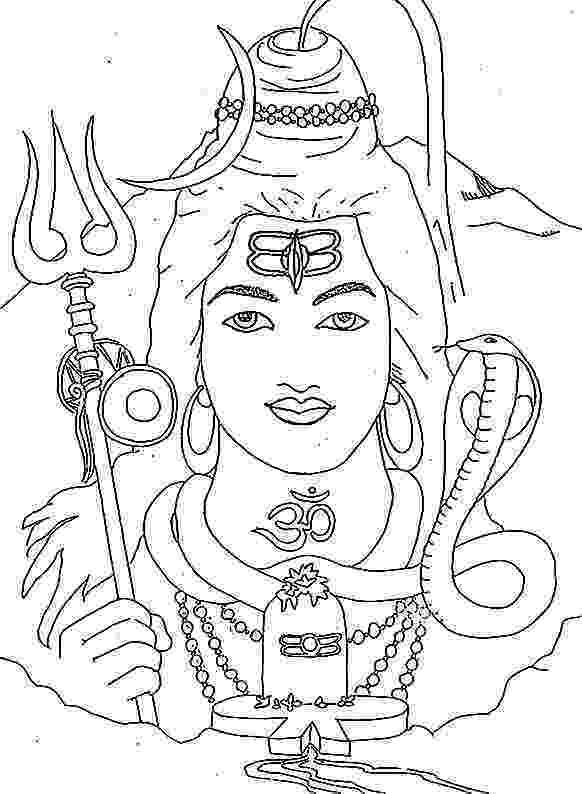 lord shiva colouring pages shiva nataraja drawing at getdrawings free download shiva pages colouring lord