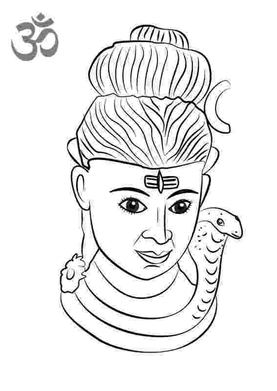 lord shiva colouring pages shiva parvati ganesh coloring page lord shiva pages colouring shiva lord