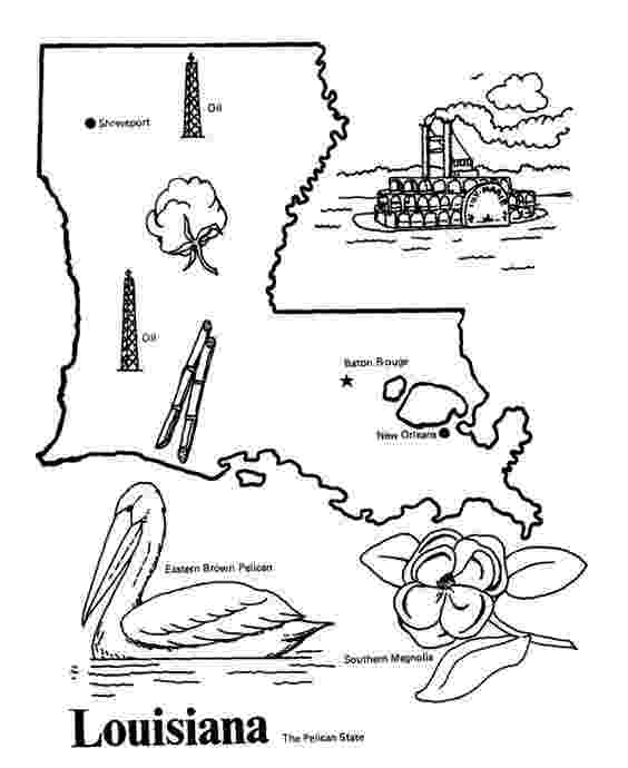 louisiana state symbols coloring pages louisiana state symbols coloring pages coloring home state pages louisiana symbols coloring