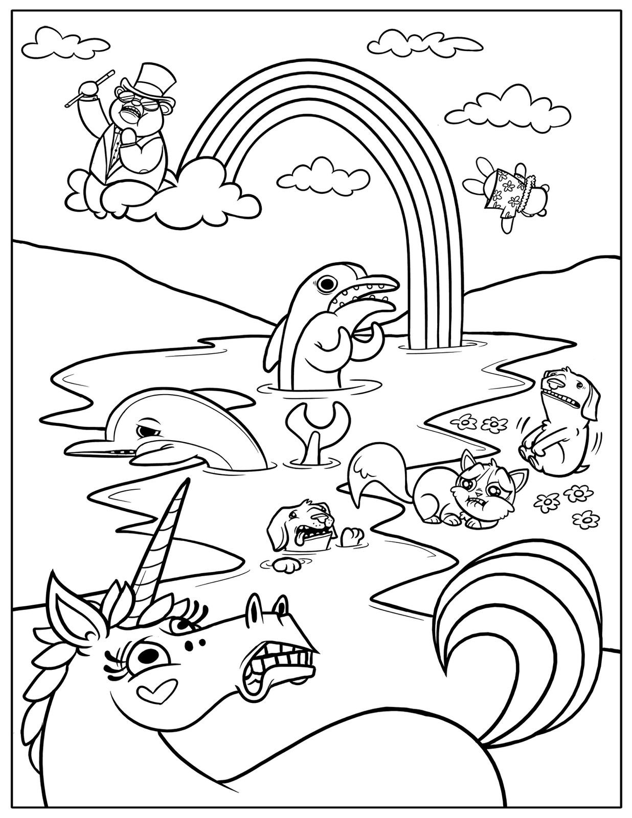 magic coloring sheets rainbow magic coloring pages to download and print for free magic coloring sheets