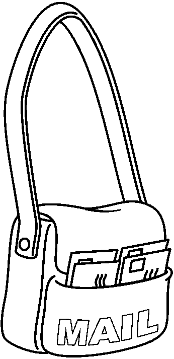 mail carrier coloring page bubble guppies coloring pages mail carrier snail free coloring mail page carrier
