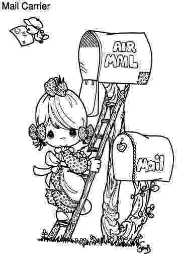 mail carrier coloring page community helpers coloring pages by taylor39s teaching coloring page mail carrier