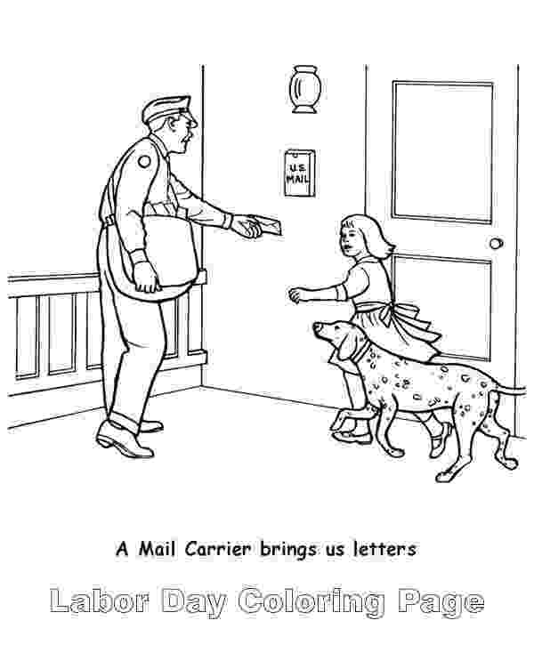 mail carrier coloring page mail carrier coloring page sketch coloring page mail coloring page carrier