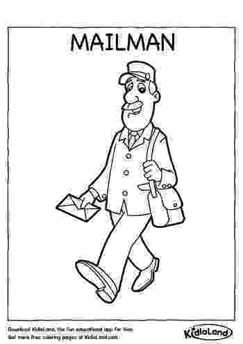 mail carrier coloring page strikingly design ideas mail coloring pages page ultra page mail carrier coloring