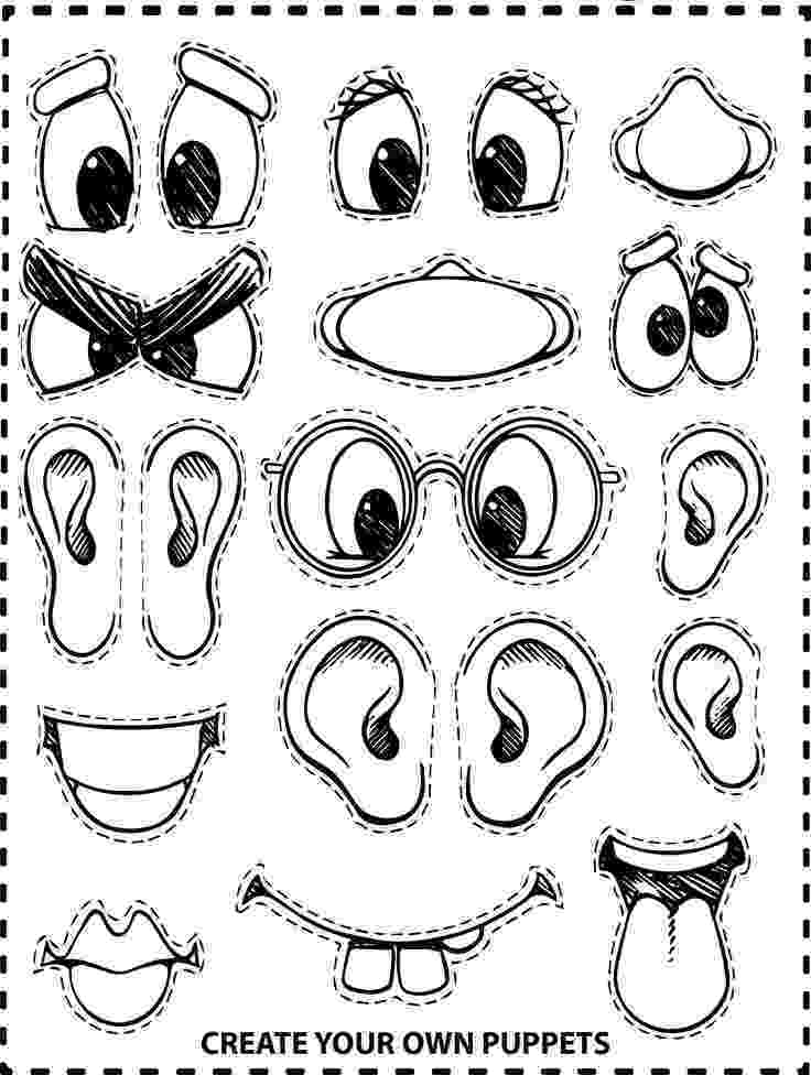 make a coloring page create your own face coloring page monster crafts page coloring make a