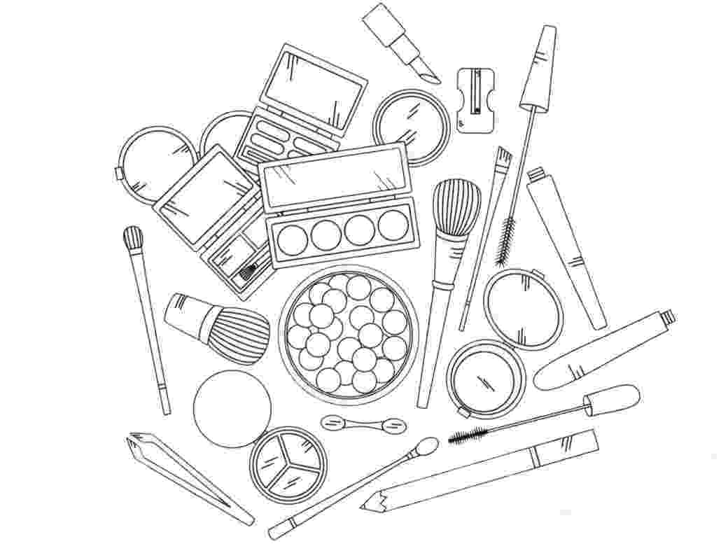 make up colouring pages cosmetic coloring pages to download and print for free pages up colouring make