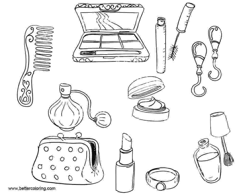 make up colouring pages makeup coloring pages coloring pages to download and print make up pages colouring