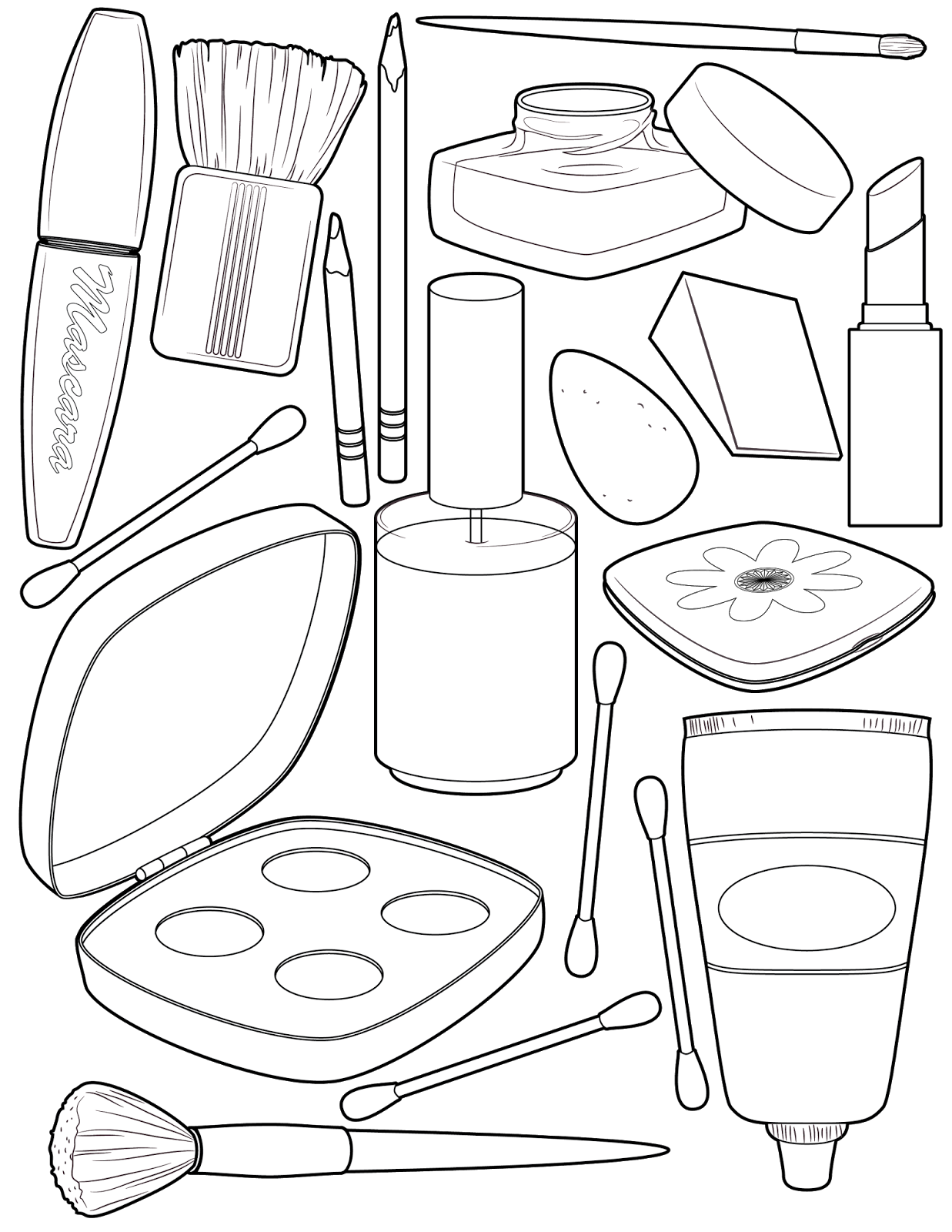 make up colouring pages makeup coloring pages coloring pages to download and print pages up colouring make