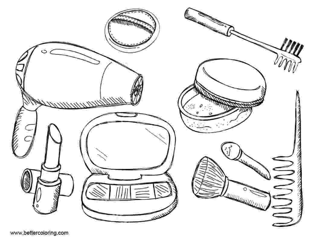 make up colouring pages makeup coloring pages free printable makeup coloring pages make up pages colouring