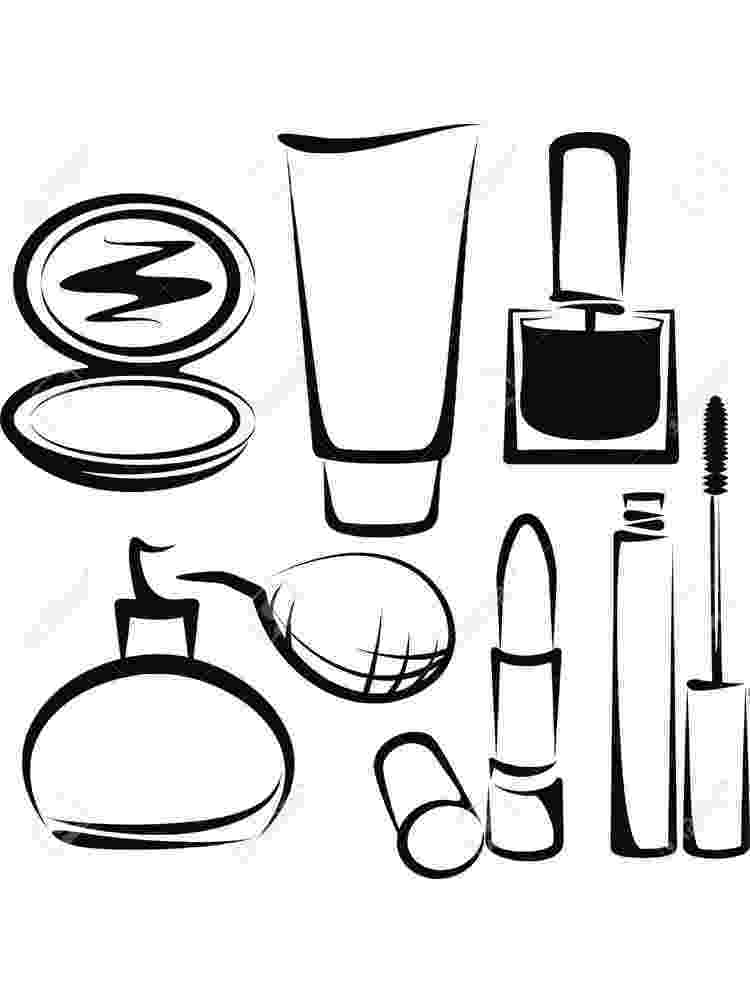 make up colouring pages makeup coloring pages getcoloringpagescom colouring pages make up