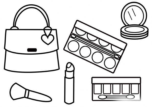 make up colouring pages makeup coloring pages getcoloringpagescom up pages colouring make
