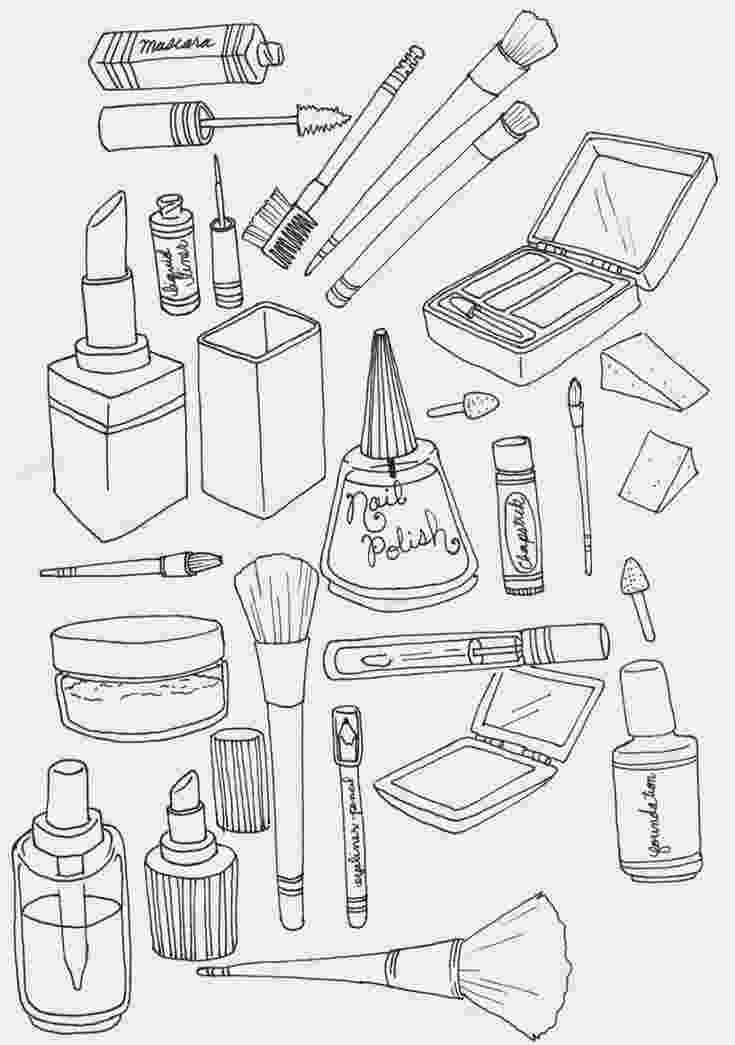 make up colouring pages makeup coloring pages to download and print for free make pages colouring up