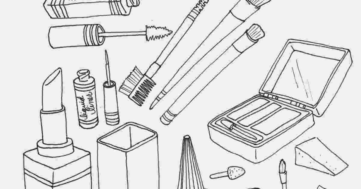 make up colouring pages makeup coloring pages to download and print for free up pages make colouring