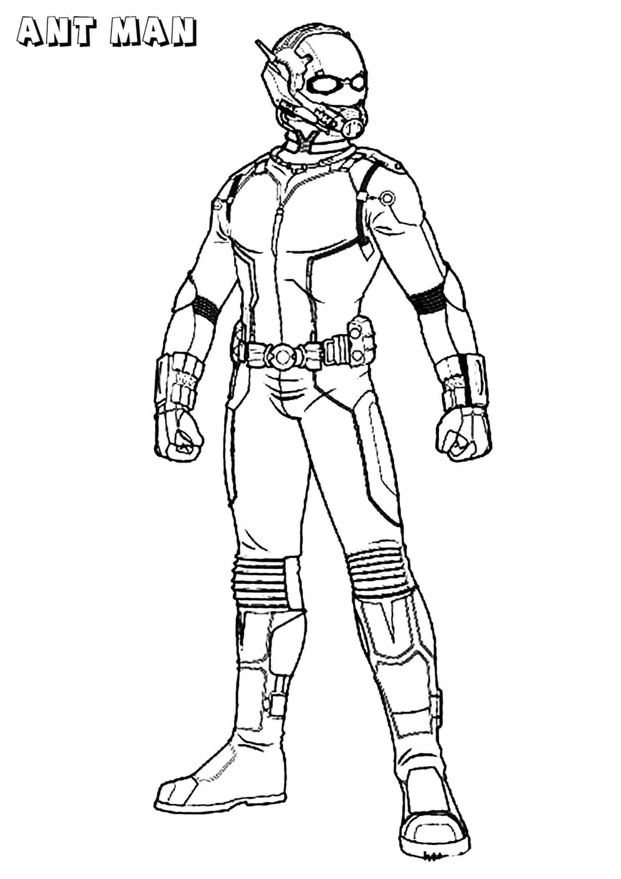 man coloring page ant man ant man kids coloring pages page man coloring