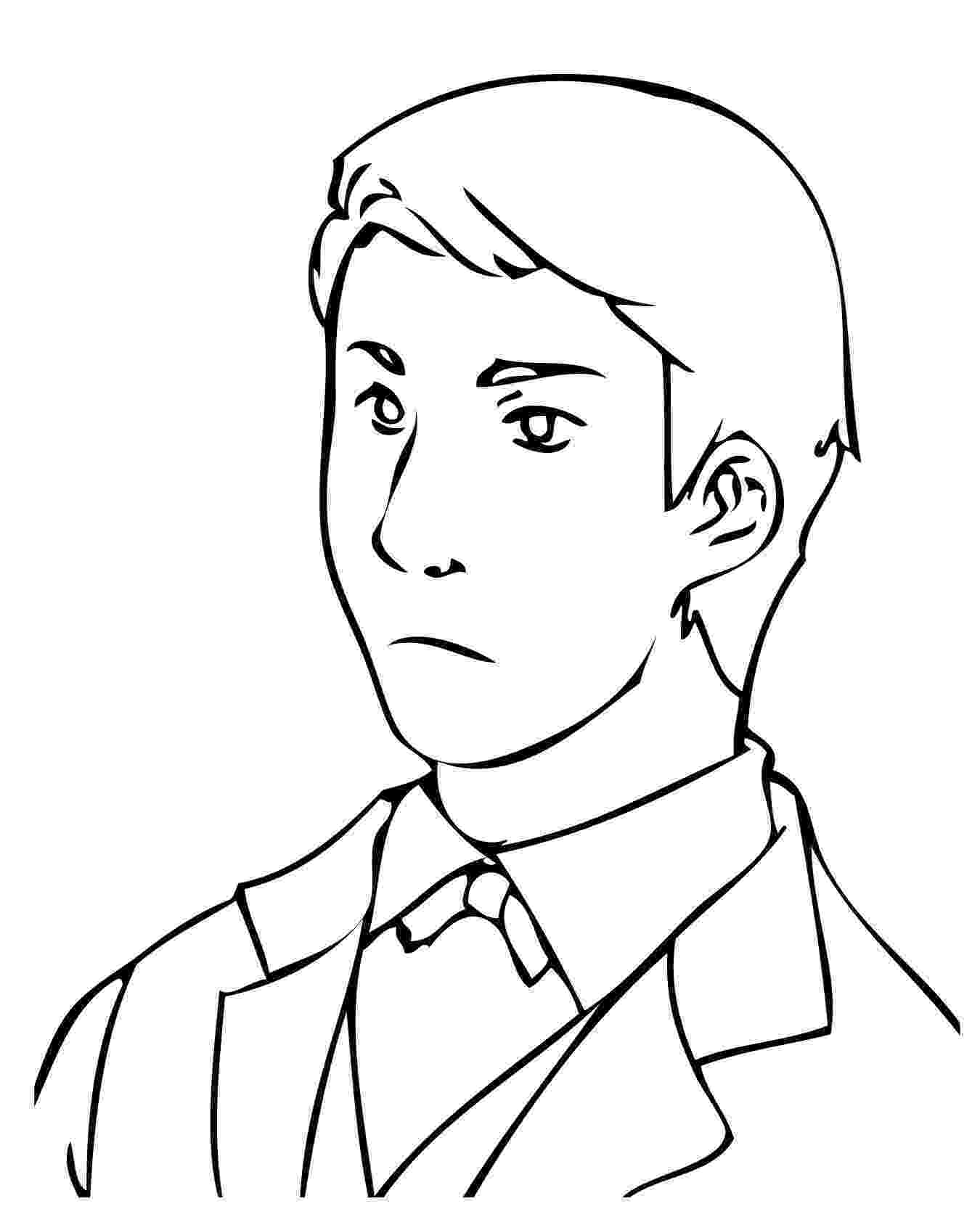 man coloring page handsome business man coloring pages best place to color man coloring page