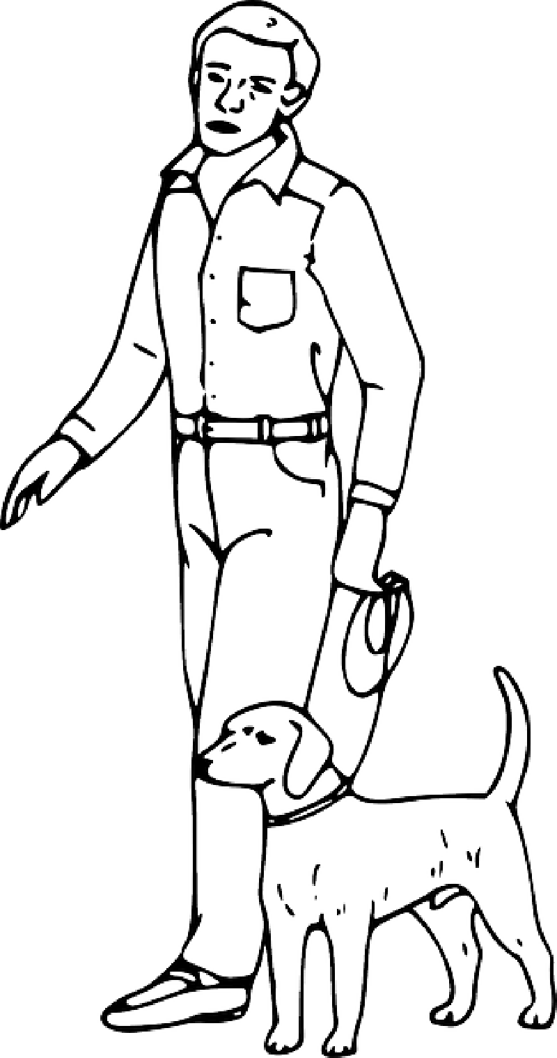 man coloring page illustration of an african american stick figure hard coloring page man
