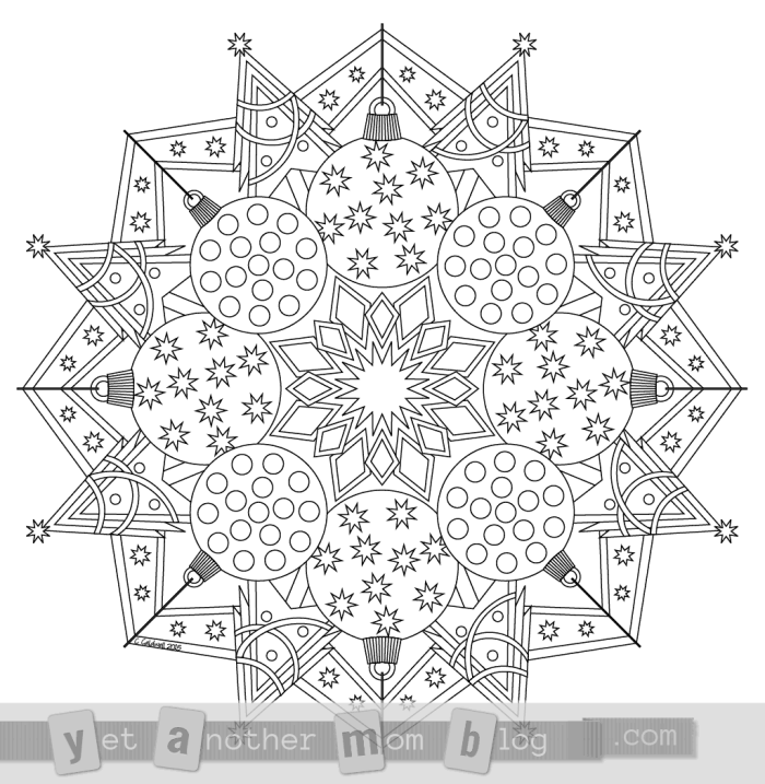 mandala christmas coloring pages say goodbye to stress by coloring christmas mandalas coloring christmas mandala pages
