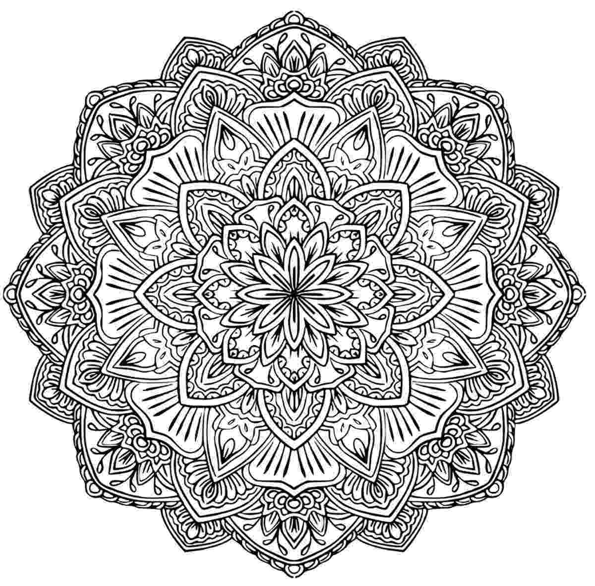 mandala coloring pages for adults free 24 more free printable adult coloring pages printable free pages mandala for adults coloring