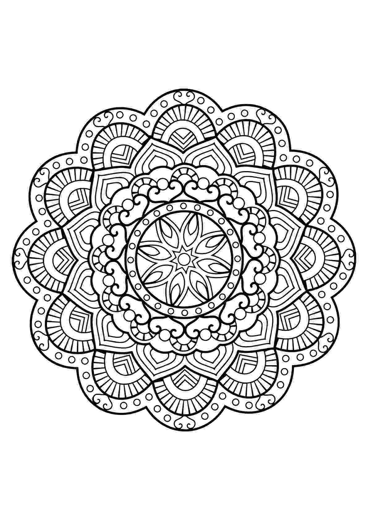 mandala coloring pages for adults free how to make your own mandala coloring pages for free free adults coloring mandala pages for