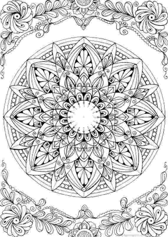 mandala coloring pages for adults free super detailed mandalas coloring pages for adult adults mandala for free pages coloring