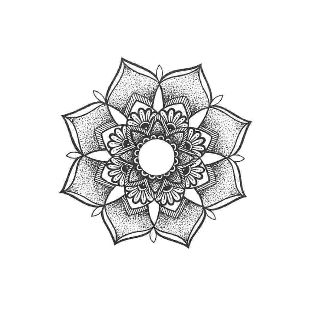mandala flower 45 best mandala tattoos designs mandala flower