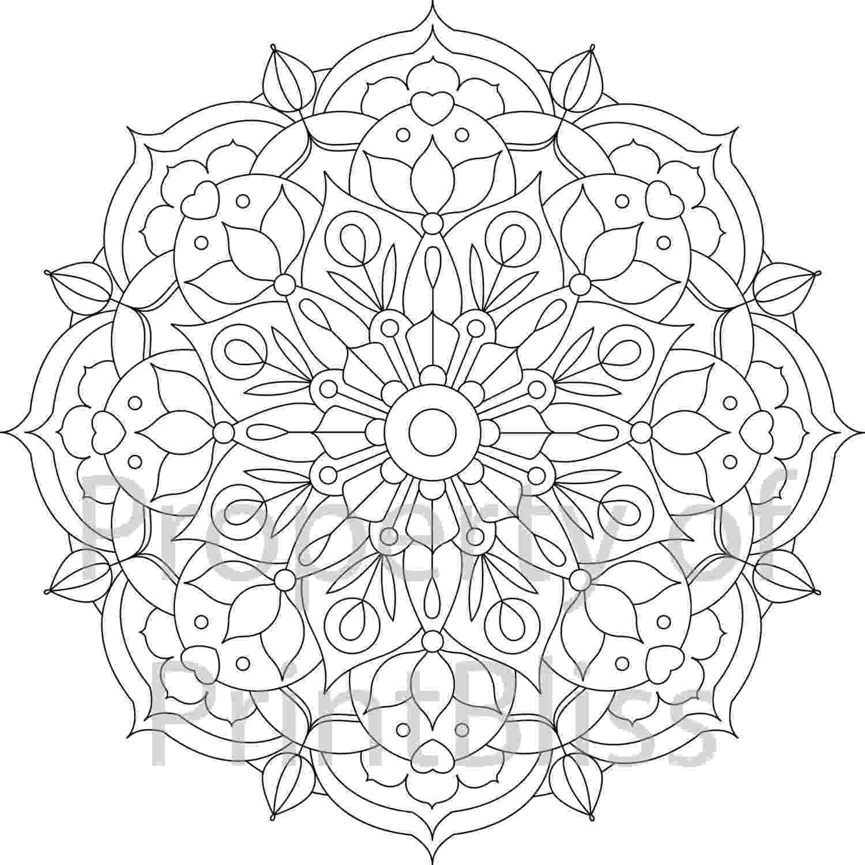 mandala flower flower mandala coloring page free printable coloring pages mandala flower 1 2