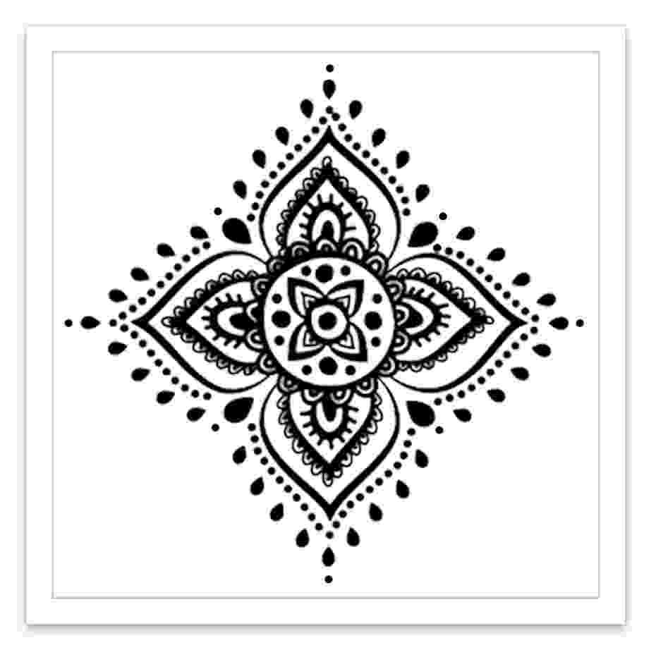 mandala flower mandala flower inked by dani temporary tattoos mandala flower