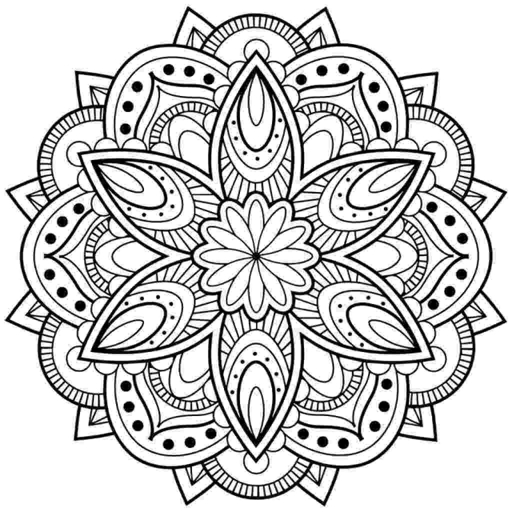 mandala flower relieve daily stresses with beautiful free flower of life flower mandala