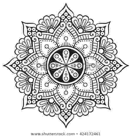 mandala flower simple mandala coloring pages download and print for free mandala flower